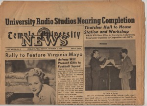 Temple University News from 1947