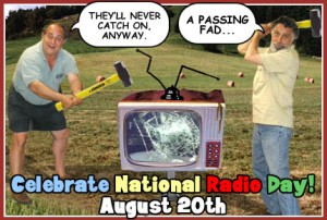 Even Click and Clack celebrate National Radio Day