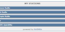 Pandora station export