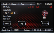 GMC Acadia HD Radio
