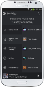 Slacker My Vibe on Android