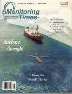 Monitoring Times cover May 1996