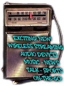 Wireless streaming parody