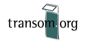 Transom.org logo