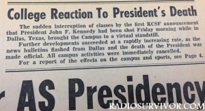 Guardman article on JFK assassination