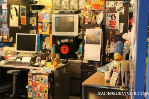 Kevin Stockdale's office at KUCI