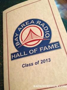 Bay Area Radio Hall of Fame 2013 program