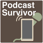 Podcast Survivor logo + text