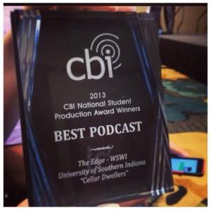 WSWI 2013 CBI podcast award