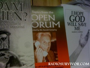Harold Camping publications