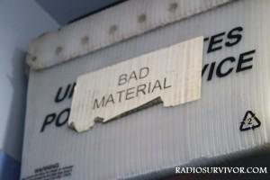 KUCI Bad Material Bin
