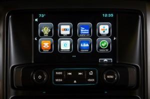 Chevy in-dashboard AppShop