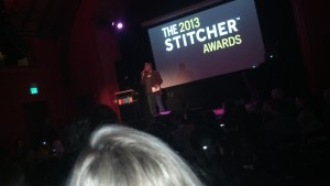 Live at the Stitcher Awards