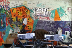 KRRC radio station