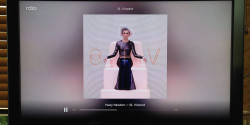 Rdio on Chromecast - St. Vincent