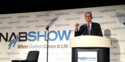 FCC Chair Tom Wheeler at the 2014 NAB Show
