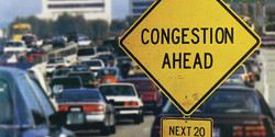 Congestion ahead; next twenty years.