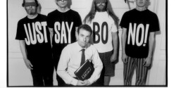Negativland Press Photo: Just Say Bo-No!