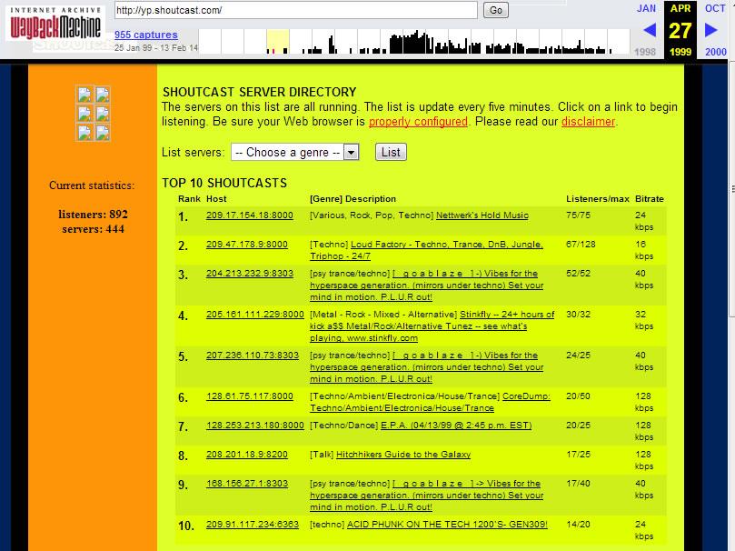 shoutcast1999