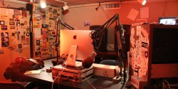 college radio station WRBB Studio