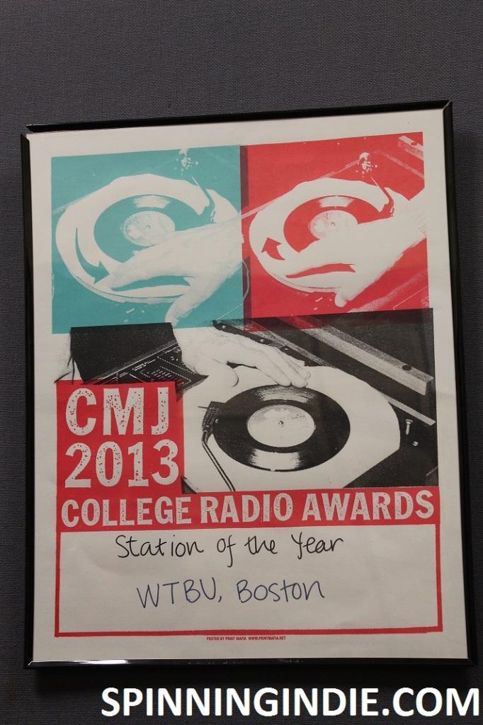 WTBU CMJ award