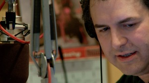 WFMU host Tom Scharpling.