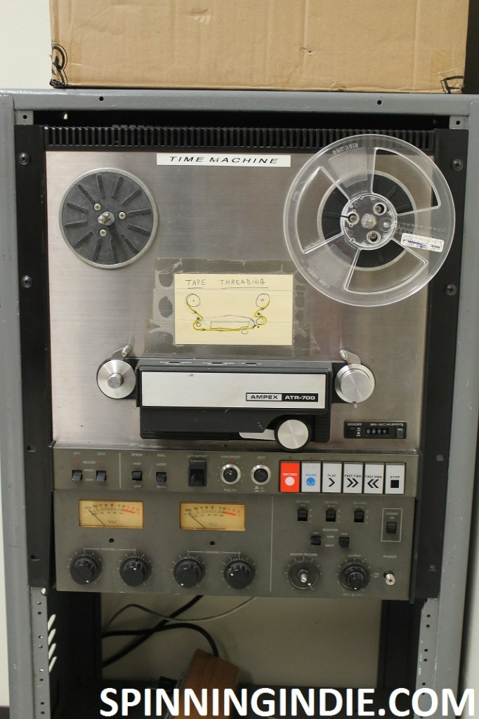 Reel to reel at high school radio station WLTL
