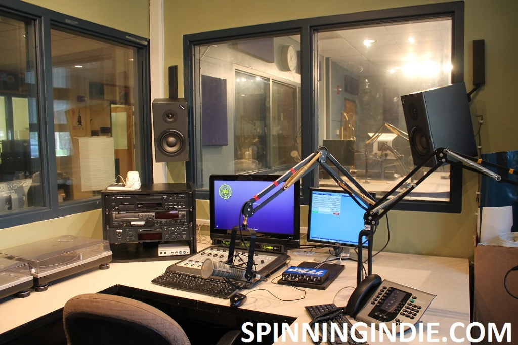 Production studio at high school radio station WLTL