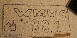 college radio station WMUC