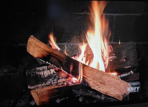 KOFY's Yule Log