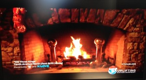 Up Yule Log
