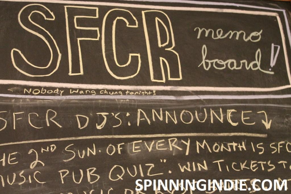 SFCR memo board