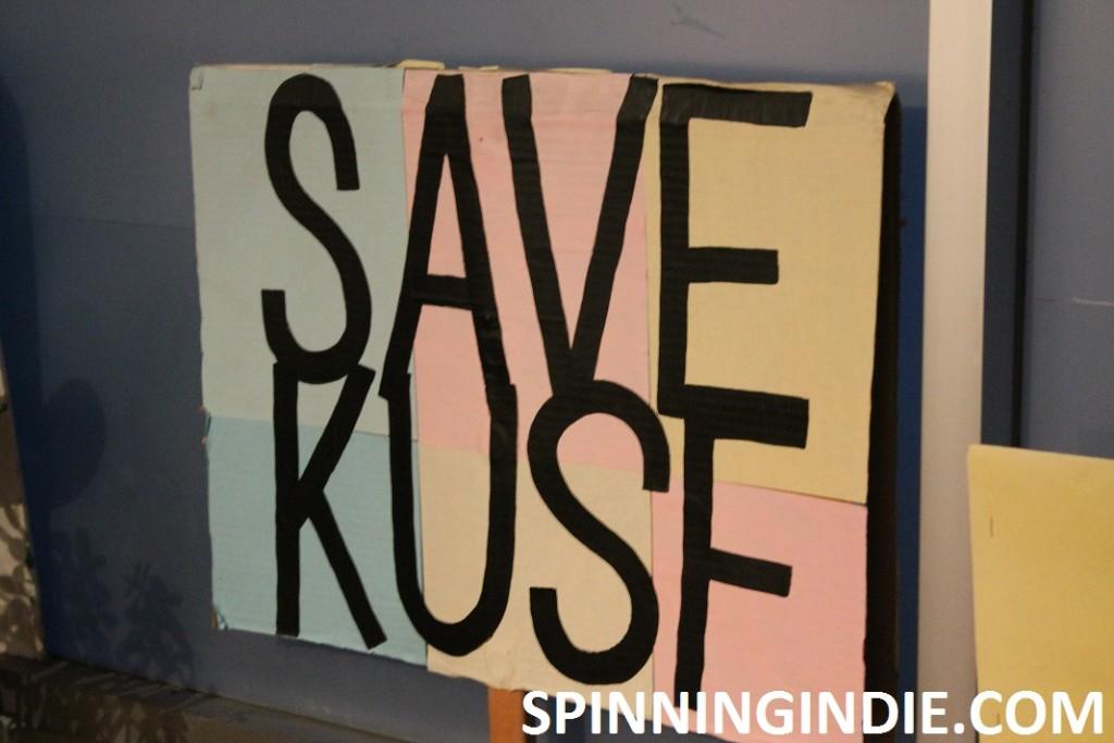 Save KUSF sign