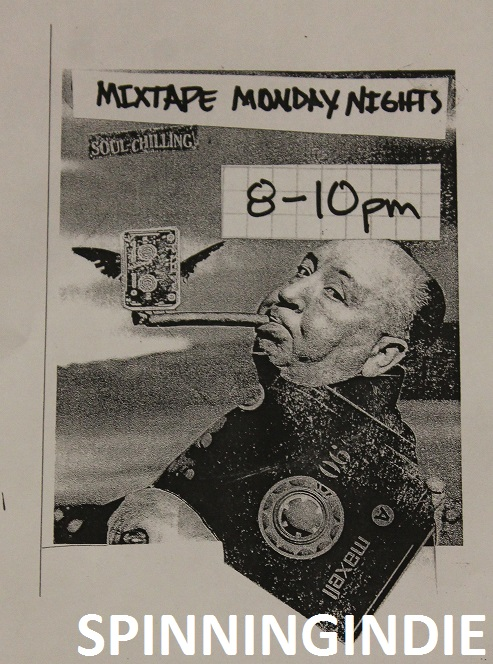 flyer for Mixtape Monday Night show on Rainy Dawg Radio