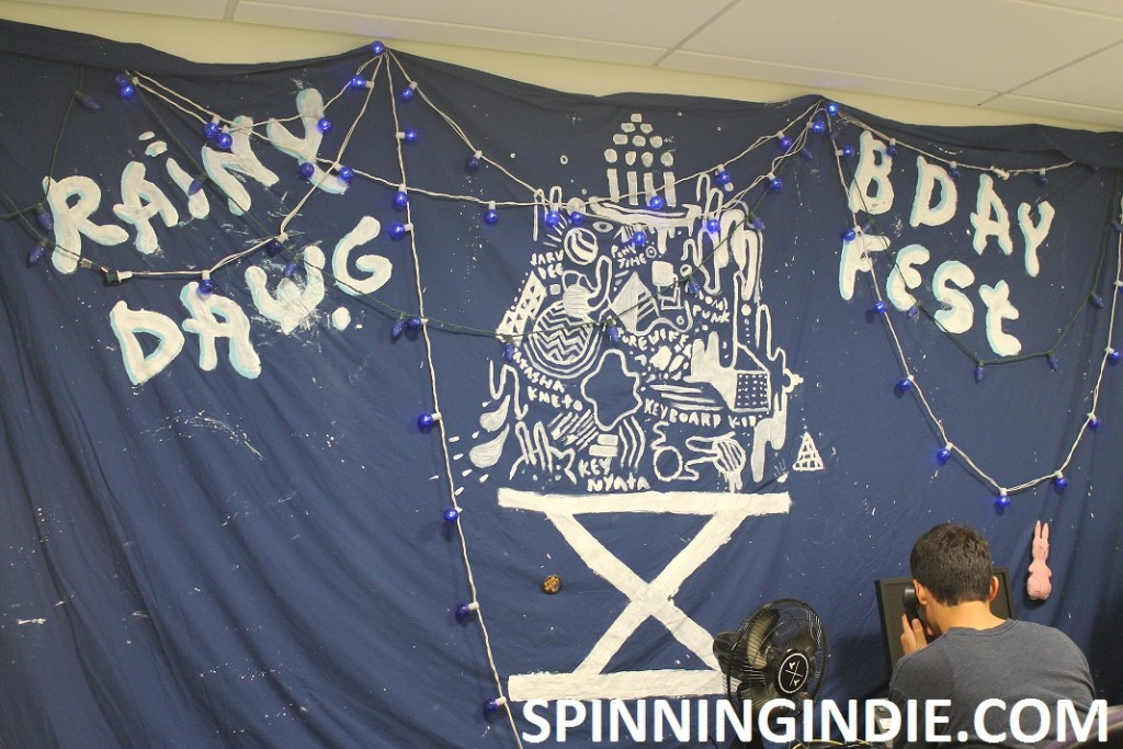 Rainy Dawg Birthday Fest banner
