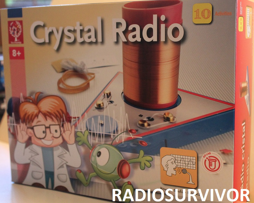 Crystal Radio Kit box
