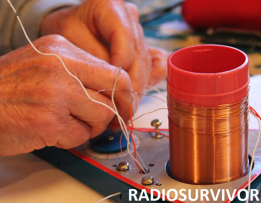 Threading wires