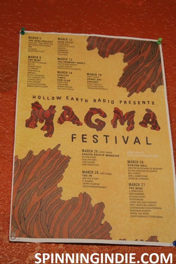 Magma Festival poster