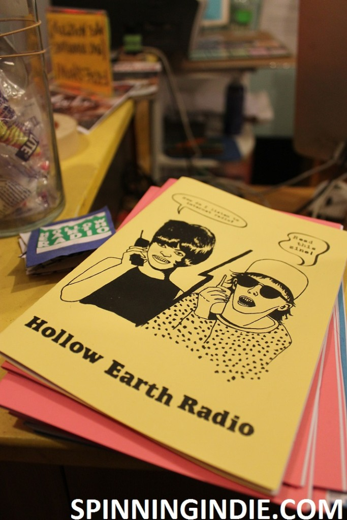 Hollow Earth Radio zine