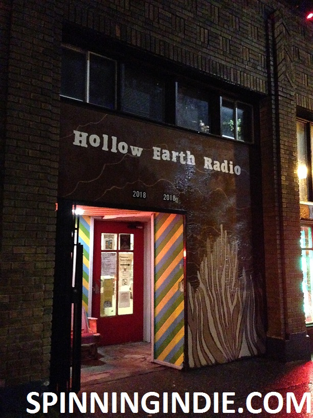 Hollow Earth Radio entrance