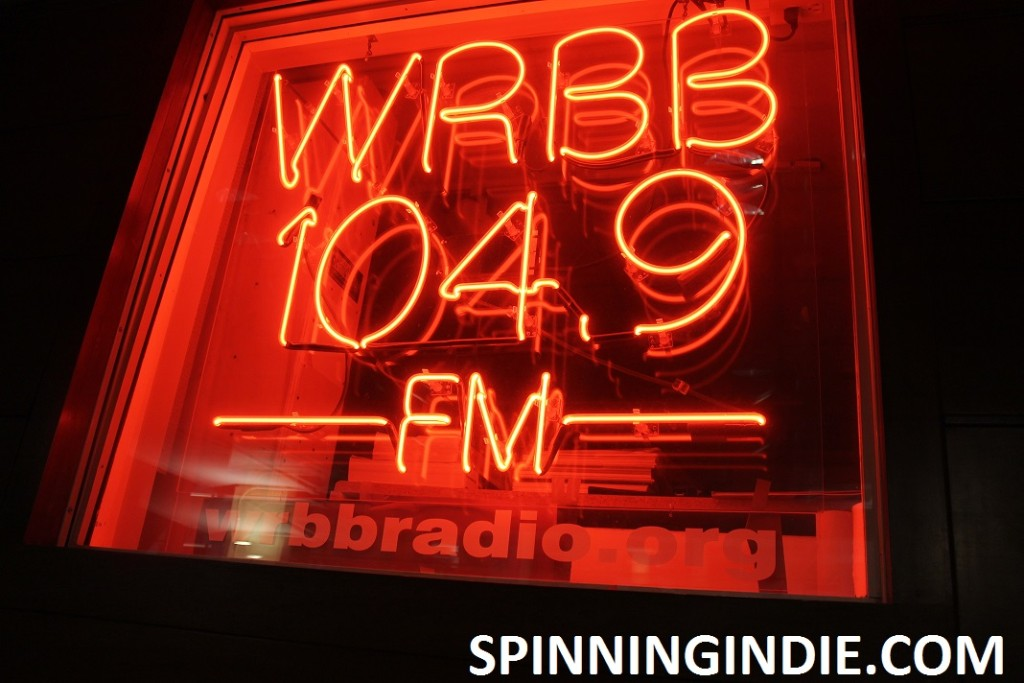 Neon WRBB sign