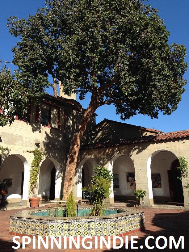 courtyard at San Francisco Art Institute