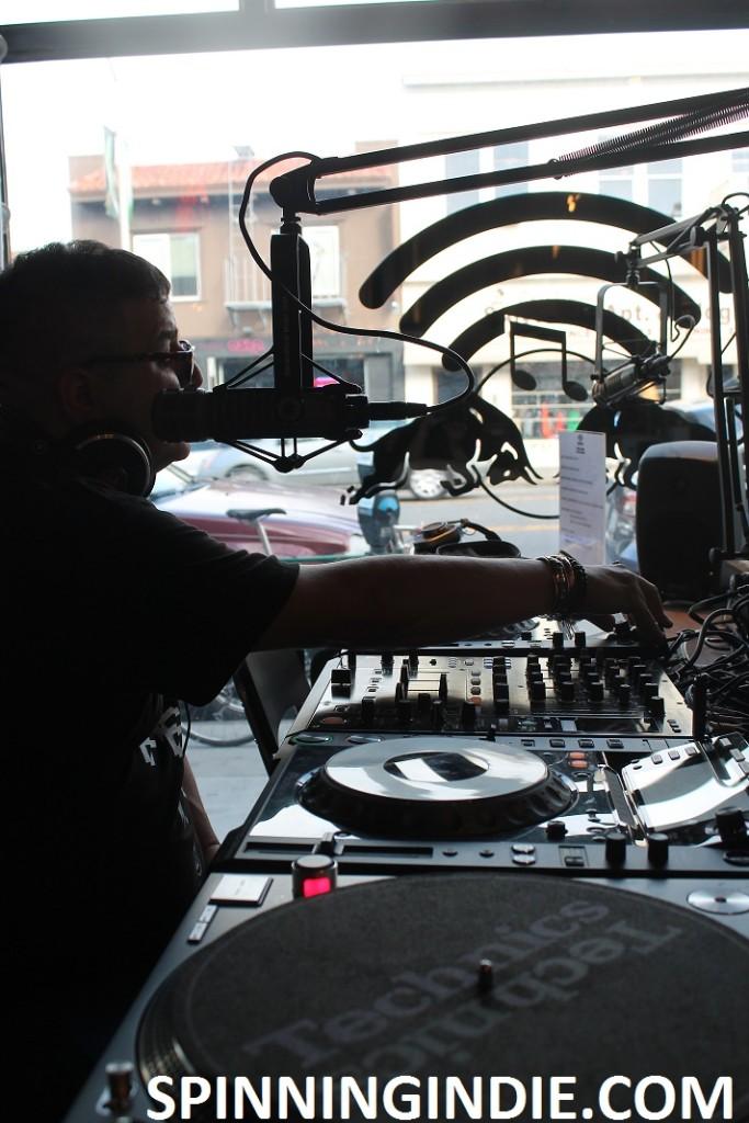 Doc Martin at RBMA Radio in San Francisco