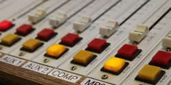 radio mixing board