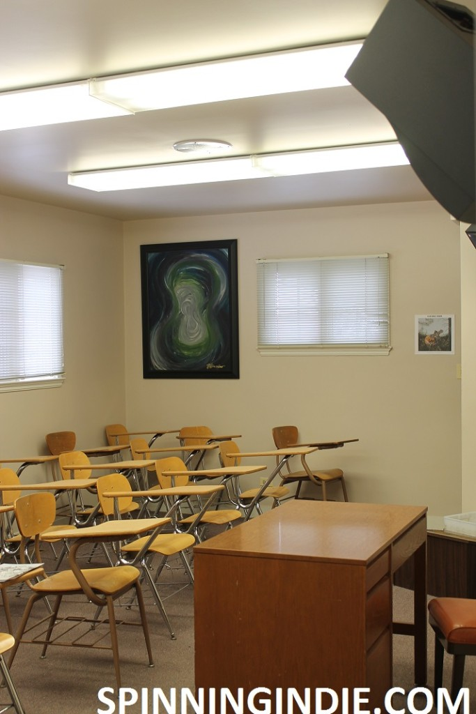 classroom at WONC