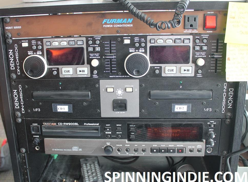 Audio equipment at WRVG