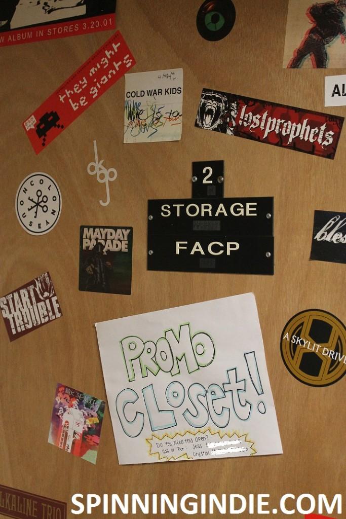 WONC promo closet