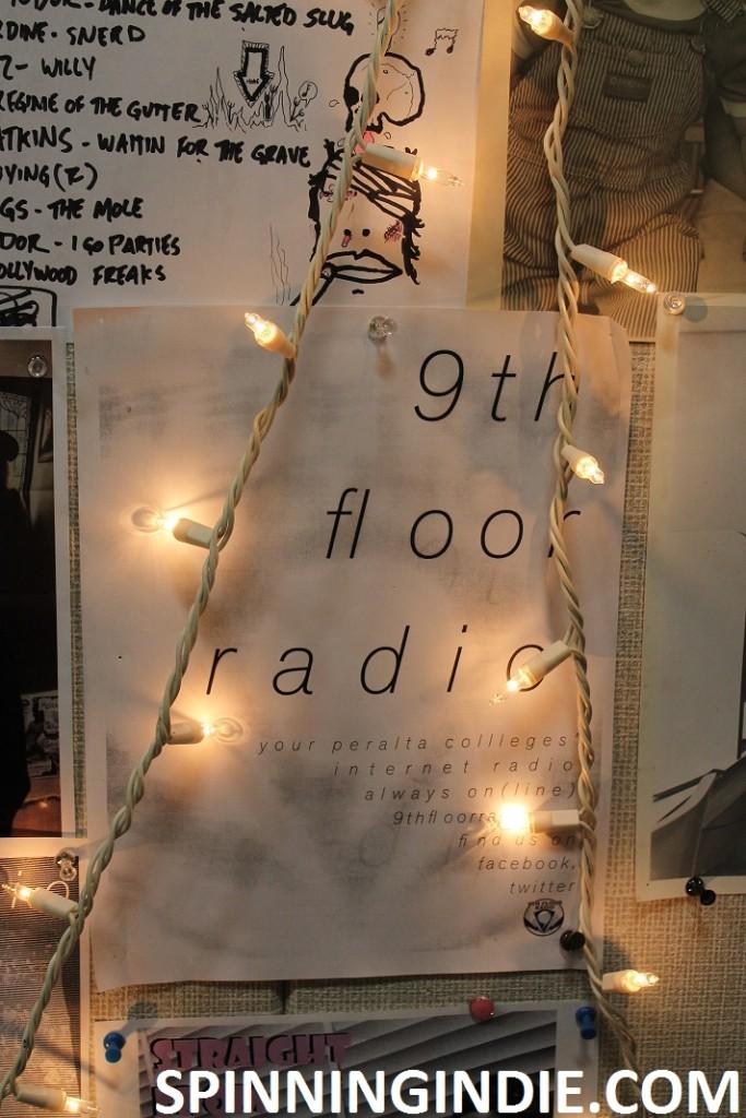 flyers at 9th Floor Radio