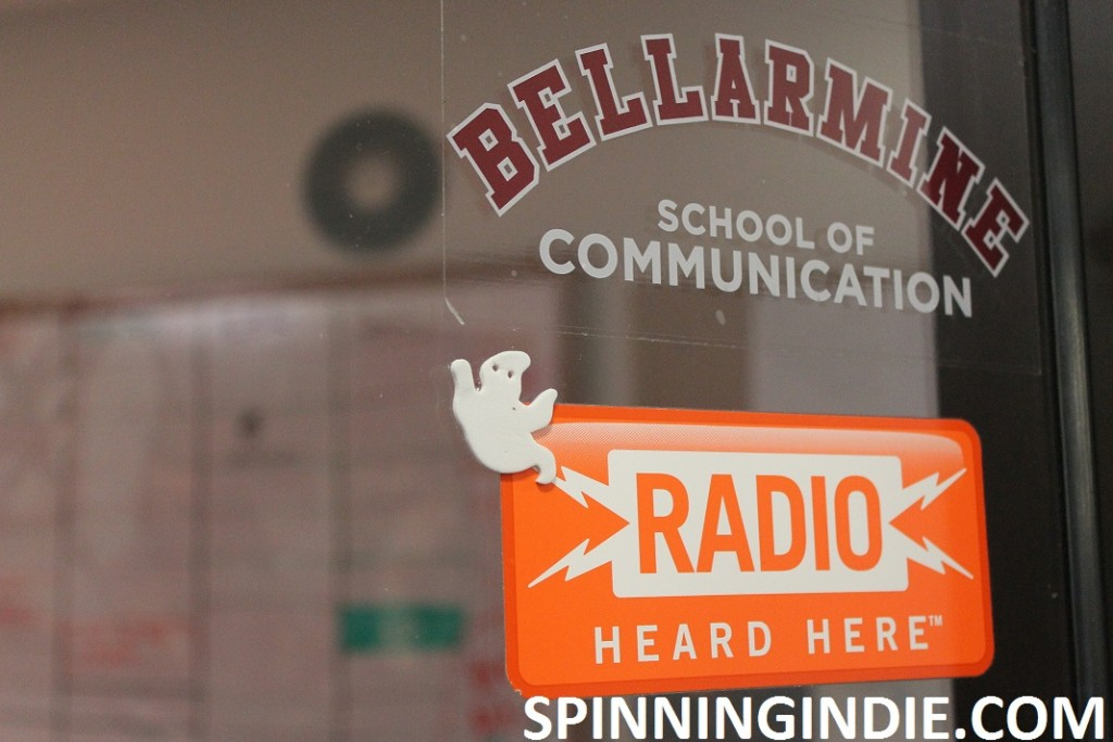 View into Bellarmine Radio