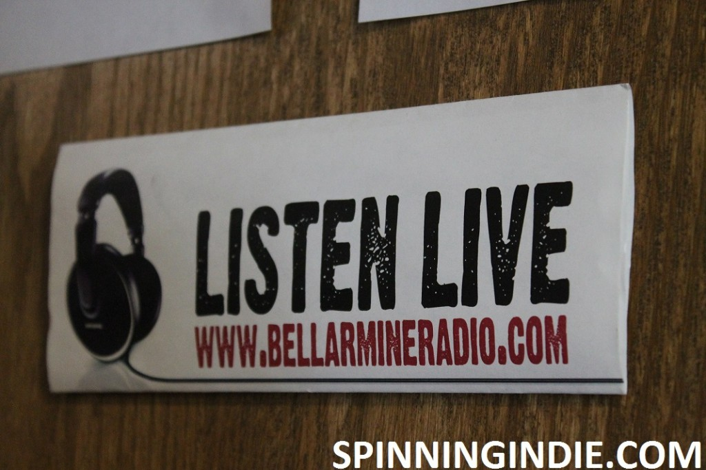 Bellarmine Radio sign